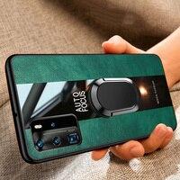 Para Huawei Honor 10i 8X 9X 8A 9 10 20 Lite 7A 7C Pro 20S magnético coche titular caso Huawei Y7 Y6 Y9 primer 2019 de 2018 Y8P cubierta