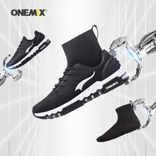Yeni onemix kış koşu ayakkabıları erkekler için yürüyüş ayakkabısı açık ayakkabı kış ayakkabı koşu sneakers rahat koşu ayakkabıları
