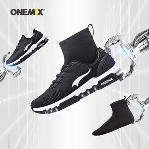 Image 1 - Yeni onemix kış koşu ayakkabıları erkekler için yürüyüş ayakkabısı açık ayakkabı kış ayakkabı koşu sneakers rahat koşu ayakkabıları
