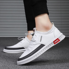 Summer New Casual Shoes for Men Breathable Mesh Lace-up Non-