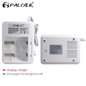 Image 1 - 2 Slots Led Display Smart Batterij Oplader Voor Ni Mh Ni Mh Nimh Nicd Aa/Aaa/C/D oplaadbare Batterij