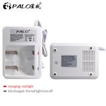 2 slot display A LED caricabatterie intelligente della batteria per ni mh ni mh Nimh ni cd AA/AAA/C/D batteria ricaricabile