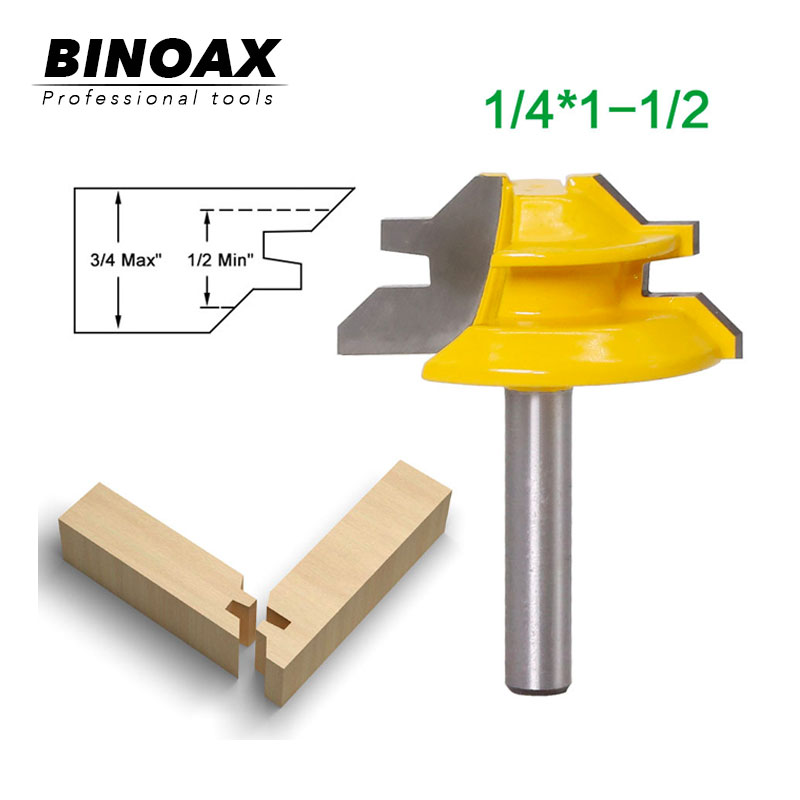 6.35mm Shank 45 Degree - Up To 1-1/2