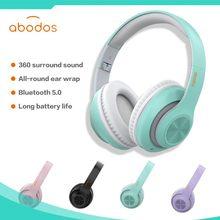 Sport Bluetooth Headset Wireless Headphones Folding Portable TF Card AUX Microphone HiFi Stereo Deep Bass Headphone For Running