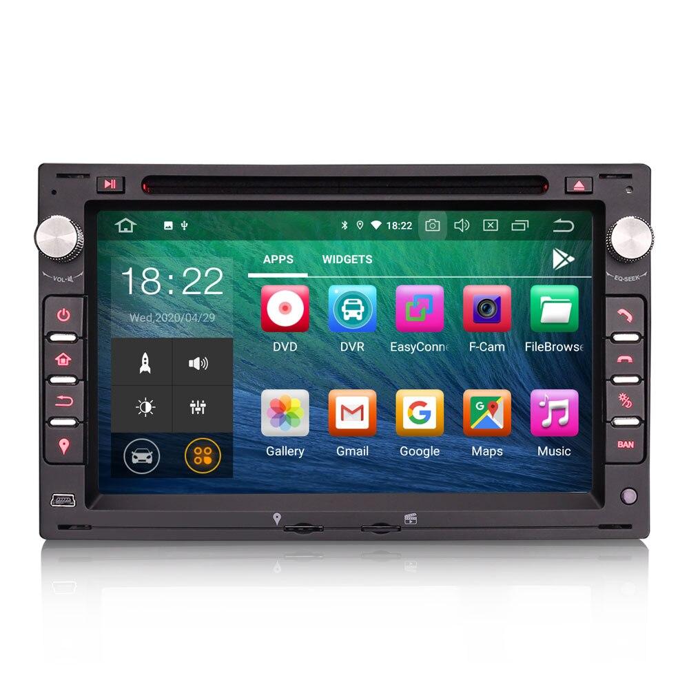 """Sistema de som automotivo 7 """", android 10.0 os, dvd, navegação multimídia, gps, player para peugeot 307 2001 2002 2003 2004 2005 2006"""