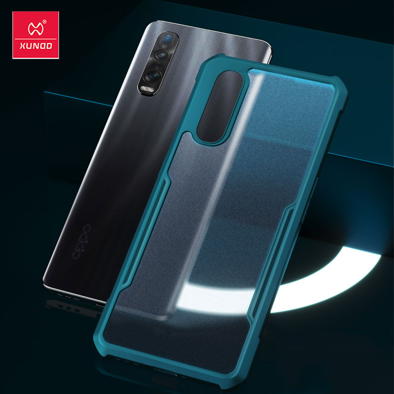 XUNDD Shockproof Phone Case For OPPO Find X2 Pro Case Protective Cover Airbag Bumper Fitted Soft Shell For OPPO Find X2 Case