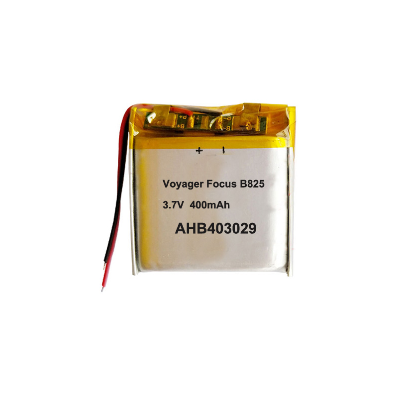 Full New 400mah Ahb403029 Battery For Plantronics Voyager Focus B825 Bluetooth Earphone Headset Accumulator Akku Replacement Batteries Aliexpress