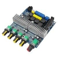 TPA3116D2 DC12V 24V Bluetooth 4 2 Subwoofer Audio Verstärker Bord 2 1 Kanal Power 2x50W + 100W TPA3116 Amplificador-in Schale- & Gehäuse-Teile aus Verbraucherelektronik bei