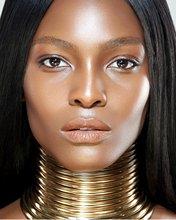 新ファッションアフリカネックレスブライダルジュエリー女性ネックレスゴールドカスタムチョーカーネックレスウェディングジュエリーギフト