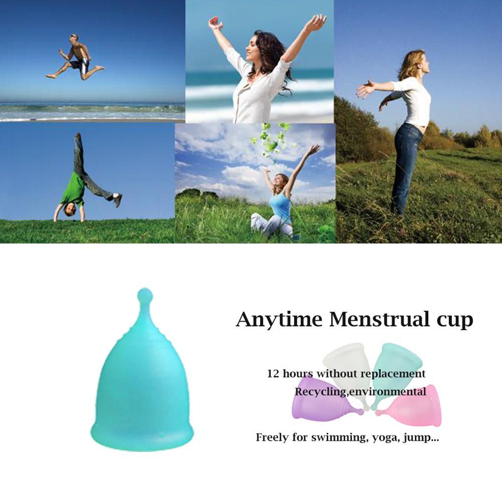Image 5 - Anytime  wholesale 100PC  International Brand Feminine Hygiene Products 100% Medical Silicone  FDA Approved for WomenFeminine Hygiene Product   -