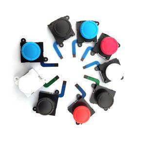 Image 4 - 20 قطعة عصا تحكم تناظرية ثلاثية الأبعاد العصي قطعة بديلة لمستشعر ل نينتندو سويتش NS ل Joy Con تحكم أجزاء إصلاح أسود