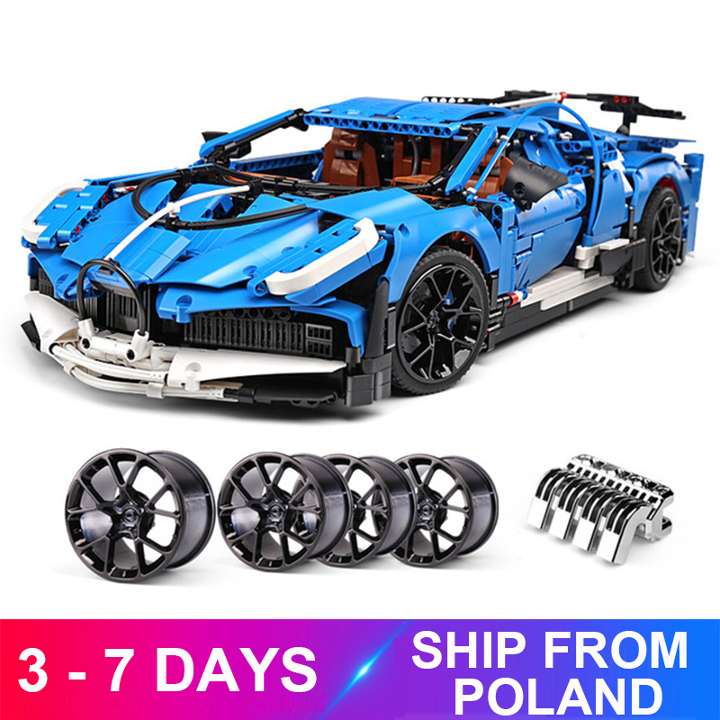 New MouldKing 13125 Compatible 42083 20086 Super Racing RC Car Toys Christmas Gifts Building Blocks Bricks For Children