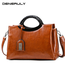 Women Luxury Messenger Bag 2019 High Quality Leather Shoulder Bag Large Leather Tote Bag Designer Bags Famous Brand Women Bags