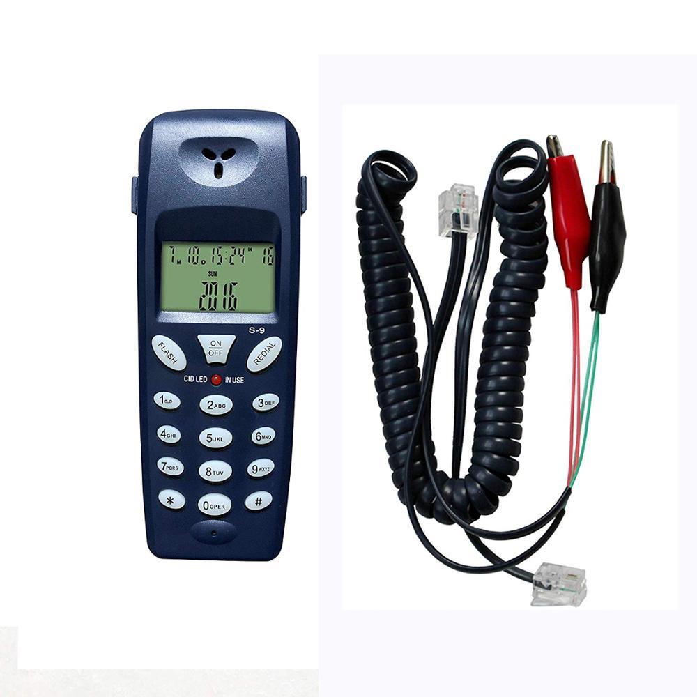 Teléfono trasero prueba probador herramienta de telecomunicaciones de la red de Cable profesional dispositivo de prueba de línea de teléfono culpa