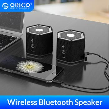 ORICO Surround Stereo Sound Double Bluetooth Wireless Speaker Portable Hifi Waterproof Speaker with TF AUX USB Port