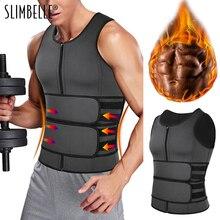 Corset Sauna-Vest Sweat-Shirt Top-Abdomen Waist-Trainer Fitness-Top Body-Shaper Double-Belt