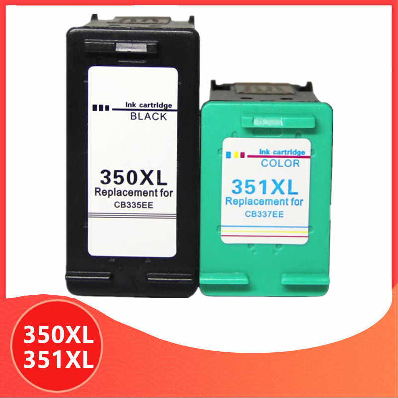 350XL 351XL Ink Cartridge Pengganti HP 350 351 untuk HP 350 D4200 C4480 C4580 C4380 C4400 C4580 C5280 C5200 C5240 Printer