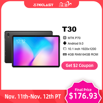 Teclast T30 Andriod 9.0 4G Phone Call Tablet 10.1