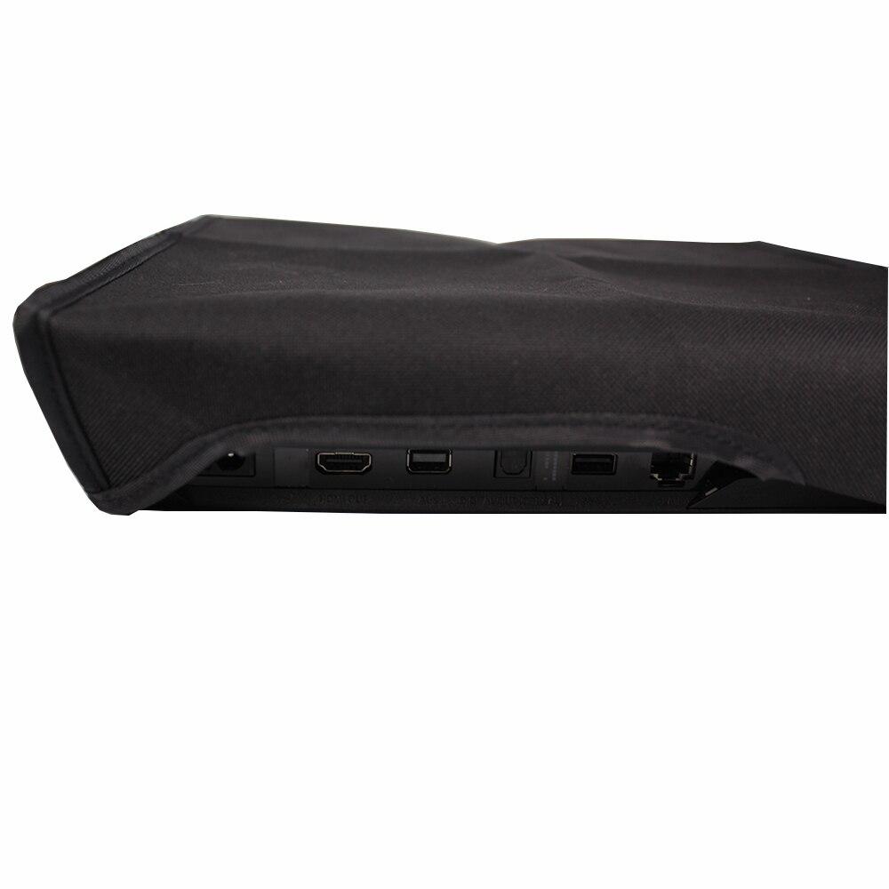Купить с кэшбэком DustProof Cover Case For Sony Playstation 4 PS4 Pro Slim Console Soft Dust Proof Neoprene Sleeve Horizontal Place
