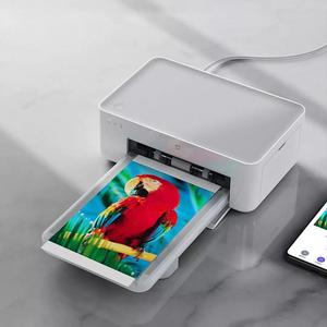 Image 4 - シャオ mi mi 嘉 mi フォトプリンタ 6 インチ熱昇華細かく復元トゥルーカラー自動複数の無線リモートポータブルプリンタ