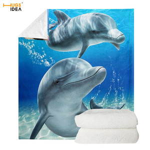 HUGSIDEA Soft Throw Blanket 3D