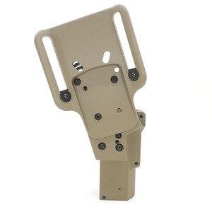 Image 4 - Arma táctica funda de caza. Compatible con pistola, se puede almacenar con (linterna XH15/XH35/X300UH B) para el usuario del lado derecho