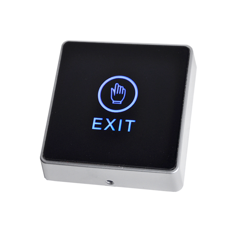 Door Exit Button Touch Release Push Switch Infrared Contactless Bule Backlight for access control systemc Electronic Door Lock (4)