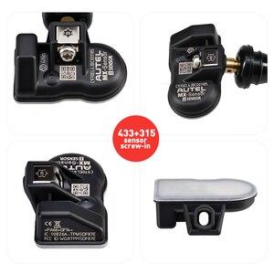 Image 3 - Autel mx sensor 433mhz 315mhz 2 in1 mx sensor universal pressão dos pneus braçadeira de programação em autel tpms almofada ts601 ts401 tpms ferramenta
