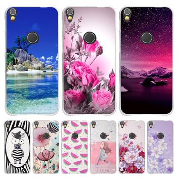 For Alcatel Shine Lite 5080X Case Funda Soft TPU Silicone Shell Floral Patterned Coque For Alcatel Shine Lite 5080X Phone Cover image
