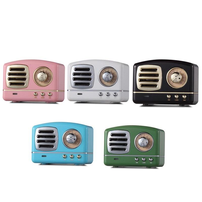 Áudio Bluetooth Mini Speaker Portátil Cartão TF USB Rádio FM de Alta Qualidade Speakes Chamadas Hd Sem Fio Caixa De Som Hoparlor f4031