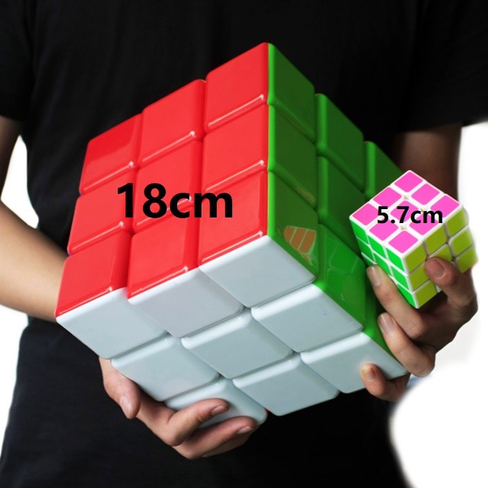 High Quality New 18cm 3x3x3 Big Magic Cube 180mm Neo Super Big Cubes 3*3*3 Cube Professional Educational Toy For Kid Best Gift