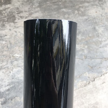 152*20 Вт, 30 Вт, 40/50 см черная, глянцевая, виниловая пленка глянцевый Автомобильная фольговая пленка Стикеры с воздушных пузырьков мотоцикл окл...