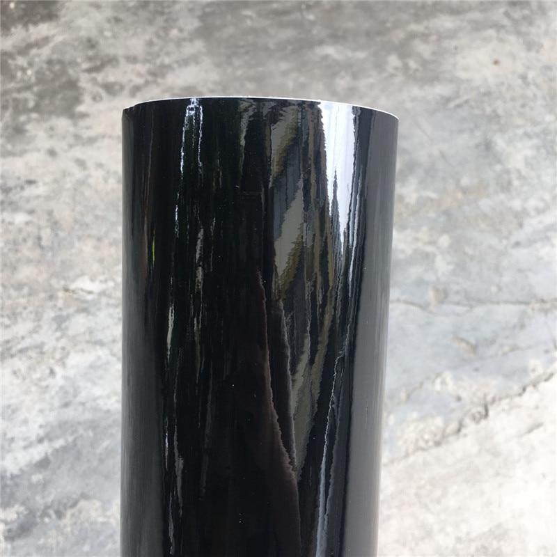 152*20 Вт, 30 Вт, 50 см, черная, глянцевая, виниловая пленка глянцевый Автомобильная фольговая пленка Стикеры с воздушных пузырьков мотоцикл окле...