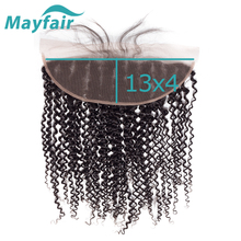 Closure Lace-Frontal Wholesale Bundles-Hair Swiss Brazilian Mayfair To Ear Curly