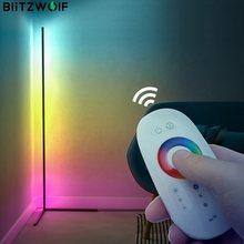 Blitzwolf BW-FLT1コーナーフロアランプrgbカラフルな照明効果68動的光モードrfスマート · リモート制御設計