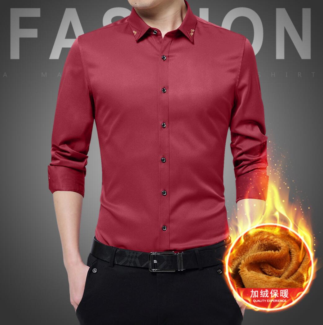 New 2019 Autumn Cotton Dress Shirts maa1 High Quality Mens Casual Shirt,Casual Men Shirts A9A22-1-19