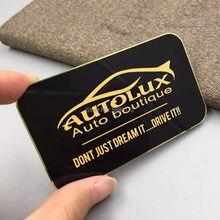 Недорогие Металлические подарочные открытки из анодированной