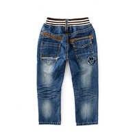 Neue junge baby frühling und herbst freizeit loch gewaschen jeans mode outdoor-hose kinder kleidung