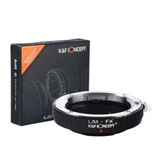 K & F مفهوم محول ل ايكا M جبل عدسة ل فوجي فيلم FX XPro2 X T2 X M2 كاميرا X T20 X T3 X T30