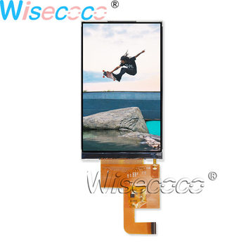 Wisecoco 4 inch 480×800 LCD screen 550nits hight brightness IPS MIPI display TM040YDHG32