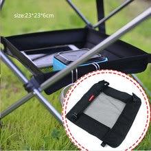 Уличный складной стол подвесная корзина для хранения дикая стойка походная сумка отделочная сетка для пикника Кемпинг сетчатый мешок для хранения