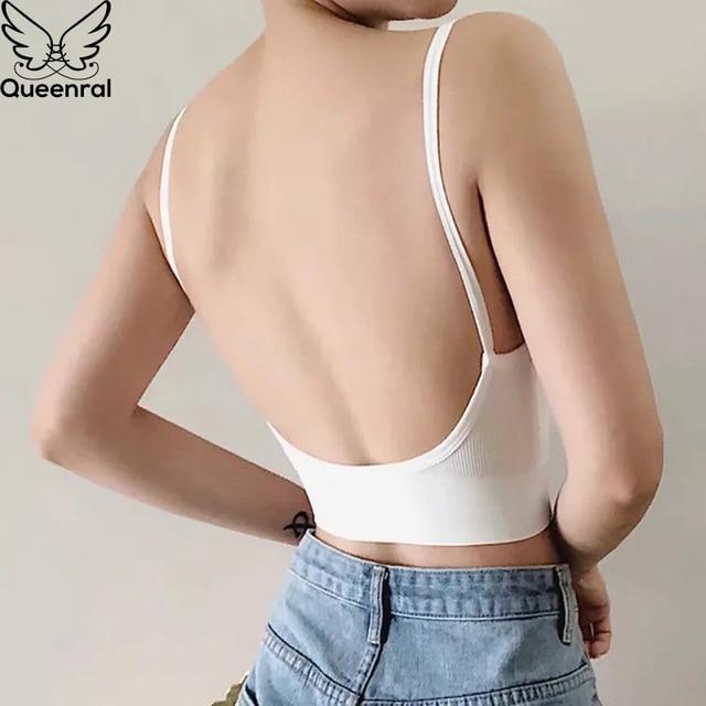 2 Pcs Bras For Women Sexy Seamless Bra U Type Backless Bra Push Up Bralette Brassiere Women Bra Soutien Gorge Femme 3