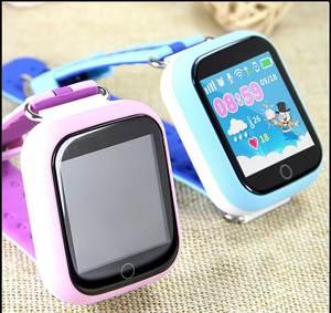 Image 5 - Gps relógio inteligente q750 q100 bebê relógio inteligente com tela de toque 1.54 polegada chamada sos localização dispositivo rastreador para o miúdo seguro pk q50 q90