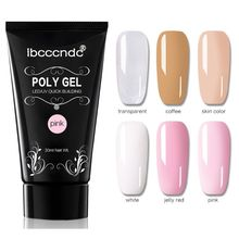 30g Polygel Nail Acrylic Poly Gel UV LED Builder Tips Enhancement Quick Extension soak off poly gel uv acryl gel quick building 15ml finger extension polygel builder gel camouflage uv led hard builder nail gel