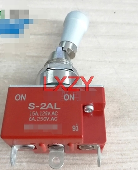 Free Shipping 2Pcs/Lot S-2AL S2al Lock Switch Tripod Two-Speed SPDP Japanese Oscillating Switch