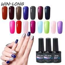 Бесцветный Гель лак для ногтей УФ цветной s отмачиваемый Набор