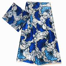 satin silk fabric 4yards+2 yards chiffon lace african print fabric satin silk fabric