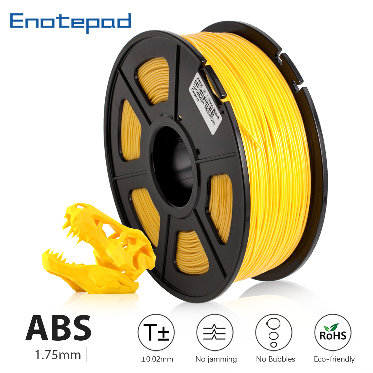 GOLD <font><b>ABS</b></font> <font><b>3D</b></font> Printer resin Filament <font><b>3D</b></font> Printing Filament <font><b>1.75</b></font> mmfor <font><b>3D</b></font> Printers Accuracy +/- 0.02 mm sublimation sublimatie image
