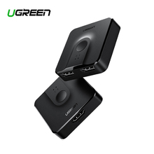 Ugreen HDMI Splitter Switch Bi Direction 4K HDMI Switcher 1x2/2x1 Adapter 2 in 1 out Converter for PS4/3 TV Box HDMI Splitter