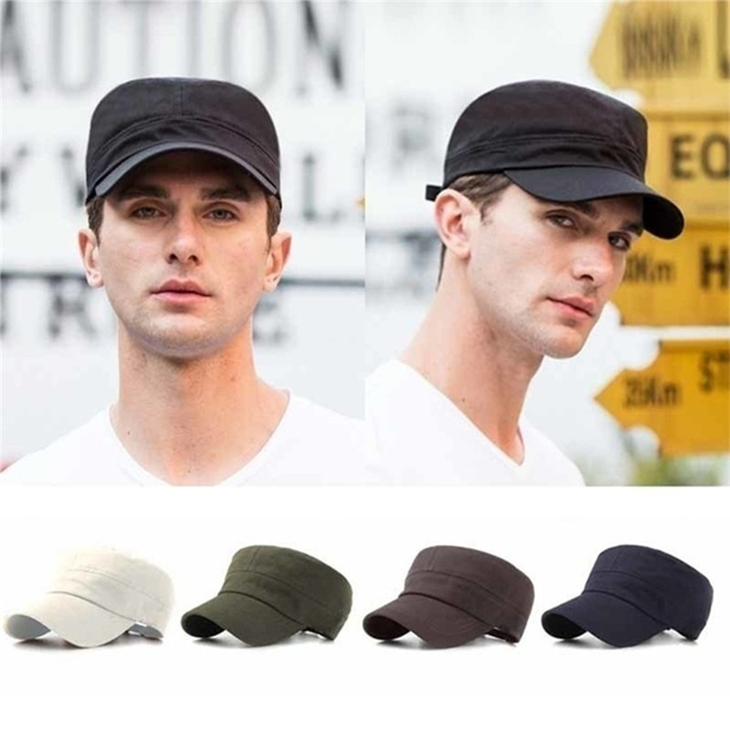 2020 United States US Marines Corps Cap Hat Military Hats Camouflage Flat Top Hat Men Hat USA Navy Embroidered Camo Hat